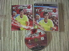 PLAYSTATION 3 PS3 TOPSPIN 4 TOP SPIN 4 JUEGO TENNIS PS3 USADO BUEN ESTADO