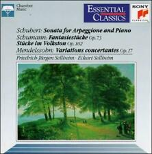 Schubert: Sonata for Arpeggione and Piano / Mendelssohn: Variations concertantes