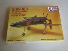 Minicraft Shinden Experimental Canard Interceptor 1/48 Scale 1189 Factory Sealed