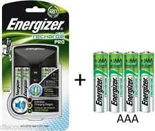 Energizer ProCharger + 4 AA 4 AAA Rechargeable Batteries -AA/AAA Battery Charger