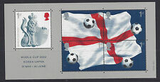Great Britain 2002 World Cup Football Championship Japan & Korea MS MUH