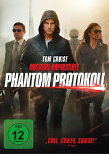 DVD * MISSION IMPOSSIBLE - PHANTOM PROTOKOLL | TOM CRUISE # NEU OVP =