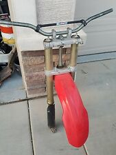 2005 Honda CRF450X CRF 450X Crf450 450 x Complete Front Suspension  Forks Showa