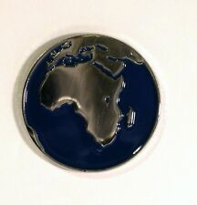 Planet Earth Enamel & Metal Lapel / Pin Badge - 24mm BRAND NEW