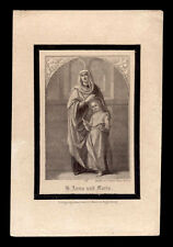 santino incisione 1800 S.ANNA