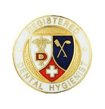 Registered Dental Hygienist Lapel Pin RDH Prestige Medical Emblem Pins New