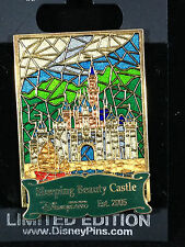 DLR Cast Exclusive Pin of Month September 2008 Hong Kong Castle Stained Glass