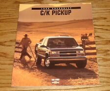 Original 1998 Chevrolet Truck C/K Pickup Sales Brochure 98 Chevy Silverado