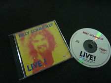 BILLY CONNOLLY LIVE ULTRA RARE AUSSIE CD!