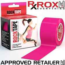 RockTape | Hot Pink | 5cm x 5m | Kinesiology Sports Tape Physio CrossFit