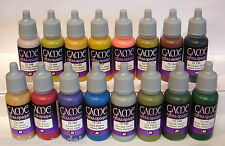 Vallejo Game Color Extra Opaque Complete Set Of 16 x 17ml Colours
