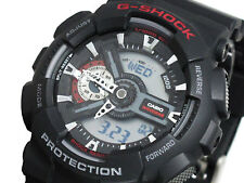 2012 CASIO G-SHOCK TOUGH BODY GA110-1A GA-110-1ADR BLACK LARGE CASE AUTHENTIC NW