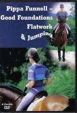 NEW Pippa Funnell Good Foundations Flatwork Jumping Dble DVD Schooling Eventing