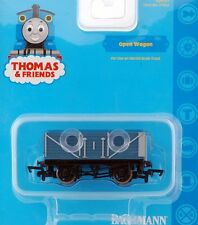Bachmann HO Scale Train Thomas & Friends Rolling Stock Open Blue Wagon 77042