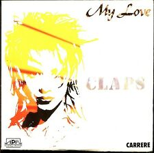 CLAPS - MY LOVE - FRENCH CARDBOARD SLEEVE CD MAXI