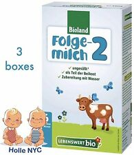 Holle Lebenswert Stage 2 Organic Formula,3 BOXES,500g 02/2018 FREE PRIORITY MAIL