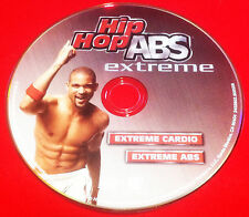HIP HOP ABS Extreme - Extreme Cardio Extreme ABs - 1 DVD - New Authentic