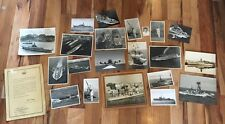 Interesting Collection Of Photographs And Documents Relating To Navy & Malta