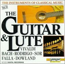 The Instruments of Classical Music, Vol. 10: The Guitar and Lute (CD, Jun)