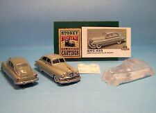 SMC-623 1950 Packard Club Sedan  1/87th-HO Scale Clear Resin  (unfinished)