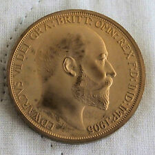 IRELAND 1905 EDWARD VII GOLDEN PROOF PATTERN CROWN