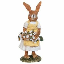 Easter Decoration Clayre Eef Bunny Rabbit 6 5 12cm Deco Polyresin Shabby