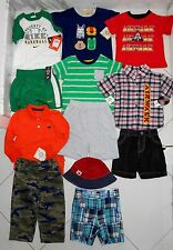 New $195 Lot 12 Pc Tommy Hilfiger Nike Boys Clothes Shirts Pants Shorts 12-24M