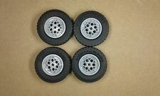 Lego Technic Big Wheels  & Tyres Set of 4 - 62.4mm x 20mm NEW 4547373 4551421