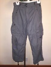 Youth Special Blend Snowboard Pants Size Ex L Dark Gray