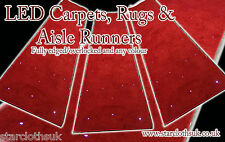 4m x 1m LED Carpet Aisle runner for events and weddings VIP LED RED CARPET