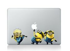 "Funny Despicable Me Minions Macbook Air Pro Retina 13"" Vinyl Decal Sticker Cover"