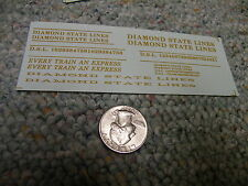 Herald King decals HO Diamond State Lines Every Train an Express dulux ZZ104