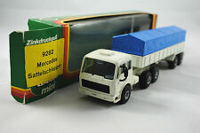 Gama 9282 mercedes-benz truck & 2 essieu remorque avec tilt housse made in germany