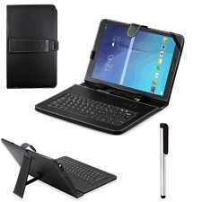 "For Samsung Galaxy Tab E T560 9.6"" Universal Stand Case Cover W/USB Keyboard Hot"