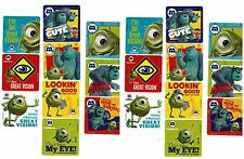 Disney MONSTERS INC University Boo Sulley Mike 20 LARGE Stickers!