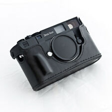 Zeiss Ikon ZI ZM Rangefinder Patagonean Case Must See 100% hand made!!!