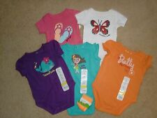 BodySuits~Size 3 Mo~SR $76~by JumpingBeans & BabyStarters~5 Colors-1 Pair Socs