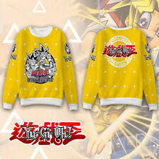 Anime Yu-Gi-Oh! MUTO YUGI Hoodie Coat Sweatshirt Cosplay Costume Long Sleeve Hot
