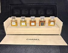 CHANEL Parfum 5 Bottle Mini Set ALLURE No. 5 22 19 COCO Perfume Vintage With Box