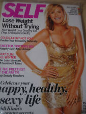december 2010 SELF Heidi Klum sexy cover still sealed + sweeter HOTTER! sex