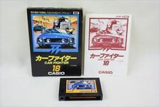 MSX CAR FIGHTER Casio 18 Video Game Import Japan 3160 msx