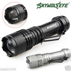Original 2000Lumen CREE Q5 AA/14500 3 Modes Zoomable LED Flashlight Torch Bright