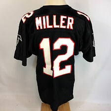 NOS Vintage 80s 90s Atlanta Falcons NFL Russell Football Jersey Chris Miller 44