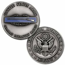 U.S. Army Combat Infantry Badge - Challenge Coin