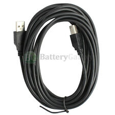 15ft 15feet USB2.0 A Male to B Male Printer Scanner Cable Black(U2A1-B1-15BLK)
