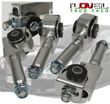 95-99 MITSUBISHI ECLIPSE/EAGLE TALON FRONT ADJUSTABLE CAMBER CONTROL KIT SILVER