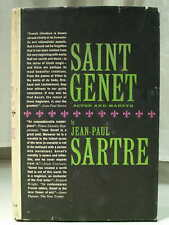 1963 SAINT GENET Actor and Martyr Philosophy Morality JEAN-PAUL SARTRE HCDJ