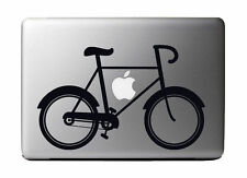 """Fixie Bicycle Vinyl Decal Sticker Skin for Apple 13"""" MacBook Pro Air"""