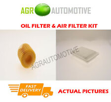 PETROL SERVICE KIT OIL AIR FILTER FOR TOYOTA VERSO 1.8 129 BHP 2009-