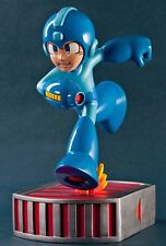 """13"""" Running Mega Man Collectible Statue by First 4 Figures Capcom *Never Opened*"""